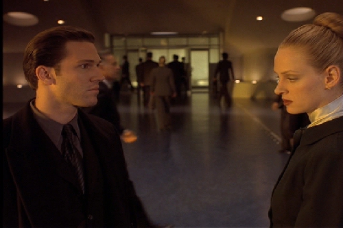"""no one in gattaca is who When one of gattaca's supervisors is murdered,  but no one takes the laws seriously"""" this is in fact one of the standard criticisms of genetic profiling:."""